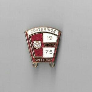 Coatbridge 1975 Speedway Badge