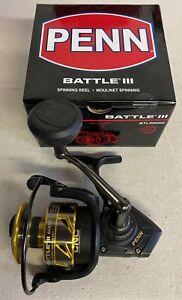 Penn Battle 3 BTLIII6000 Freshwater & Saltwater Spinning Fishing Reels