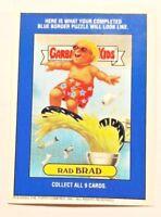 GARBAGE PAIL KIDS 2003 CARD RAD BRAD BILL BOARD STICKER GPK-1
