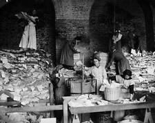 Old Photo 1917 Women Sorting Paper London South West Railway Scheme