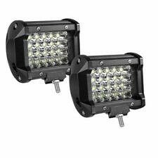 2PCS Led Pods 144w 4Inch Spot Led Light Bar Fog Light Boat Lights SUV Jeep Lamp