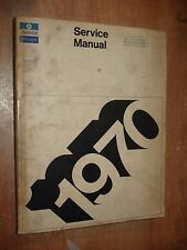 1970 CHRYSLER SERVICE MANUAL SHOP BOOK ORIGINAL RARE OEM  REPAIR BOOK