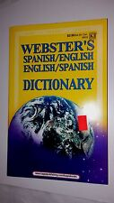 Webster's Spanish English Dictionary brand new