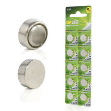 10Pcs GP LR44 AG13 1.5V Coin Button Cell Alkaline Batteries A76 SR44 357 LR1154