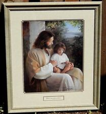 "Greg Olsen painting of Jesus with little child, ""For Lo, I Am With You Always."""