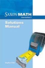 Saxon Math Intermediate 5 Solutions Manual