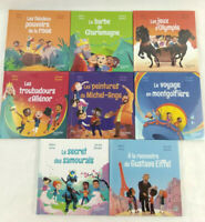 8 livres Le club des aventuriers de l'histoire Neuf Hachette Mc Do  Envoi suivi