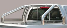 ROLL BAR MARK SPONDE MISUTONIDA INOX D. 76MM 2 TUBI PER NISSAN PICK UP NAVARA .
