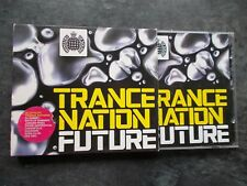 TRANCE NATION FUTURE MINISTRY OF SOUND DOUBLE DANCE CD ALBUM