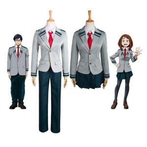 My Hero Academia Cosplay Izuku Midoriya kOCHACO URARAKA Cosplay School Uniform
