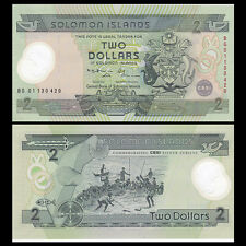 Salomonen / Solomon Islands 2 Dollars, ND(2001), P-23, Polymer, UNC>COMM.