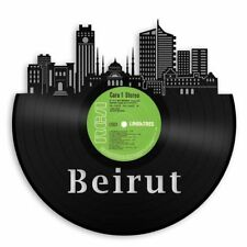 Beirut City Skyline Vinyl Wall Art Cityscape Unique Gift Home Decor Decorative