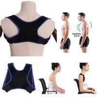 1 Stück Körperhaltung Korrektor Rückenstütze Gürtel Schulter Bandage Rückenw BC
