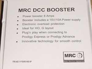 MRC Prodigy 1521 DCC Power Booster 8 Amp