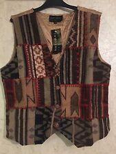 100% Wool Vintage Waistcoats for Women