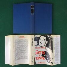 Tiberio MITRI - LA BOTTA IN TESTA Carroccio (1° Ed 1967) Libro Boxe Pugilato