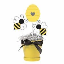 BABY SHOWER Bumblebees CENTERPIECE STICKS (3) ~ Birthday Party Supplies Decor