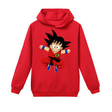 2019 Cartoon Dragon Ball  Children Kids Long Sleeve T-Shirt Hoodie