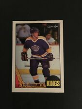 1987-88   OPC  HOCKEY  #42   LUC  ROBITAILLE  (R)   NM-MT