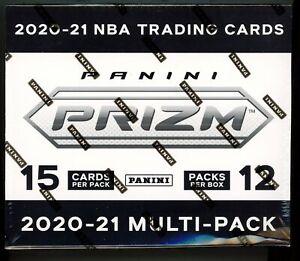 2021 Panini Prizm Basketball SEALED CELLO BOX 12x MULTI-PACK - Silver & RWB!