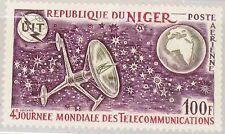 Niger 1972 330 c186 4th World Telecommunications Day ITU Satellite Space MNH