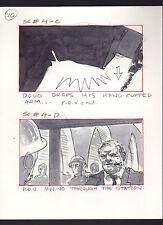 SHE'S OUT OF CONTROL 1989 ORIGINAL STORYBOARD ART ALTERNATES CARL ALDANA #4 C-D