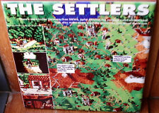THE SETTLERS Die Siedler Tribute, Amiga, Atari ,PC Game NEW VERSION~CERAMIC TILE