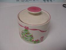 Sango Home for Christmas china #4829 pattern 1992  sugar bowl with lid usedd