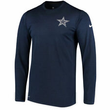 New Nike Dallas Cowboys NFL Football Dri-Fit long sleeve t-shirt men's 3XL XXXL
