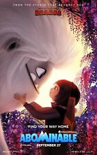 Abominable Movie Poster (24x36) - Albert Tsai, Chloe Bennet, Sarah Paulson v1