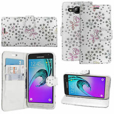 For Samsung Galaxy A3 A5 A6 A7 A8 2017 2018 Leather Wallet Book Flip Case Cover