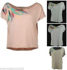 Markenlose unifarbene Damen-T-Shirts in Größe XS
