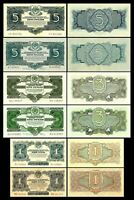 Russie -  2x  1, 1, 3, 3, 5, 5 Roubles - Edition 1934 - Reproduction - 13