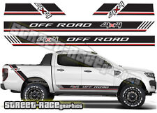 Ford F-150 racing stripes 002 decals stickers graphics offroad 4x4 ranger