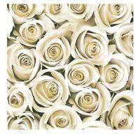 Floral Napkins for Decoupage Paper W Rose Flowers Serviettes Lunch 33cm 3PLY x20