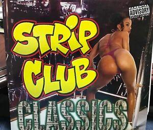 """STRIP CLUB CLASSICS 2 LIVE CREW 2X12"""" 1999 LIL JOE XR258-1 DJ PROMO"""