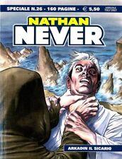 Bonelli - Nathan Never Especial 26 - Arkadin El Sicario - Italiano Nuevo