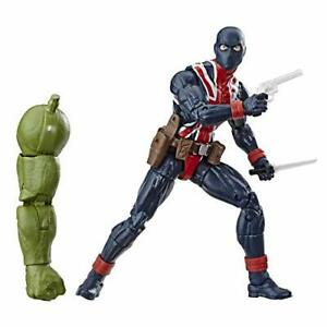 """Marvel Legends Series Union Jack 6"""" Collectible Action Figure Toy For Ages 4 ..."""
