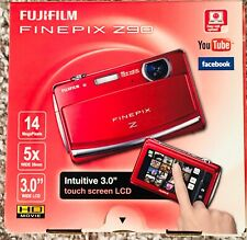 Fujifilm FinePix Z90 14 MP Digital Camera (Red) New