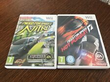 Lot jeux Nintendo wii fra need for speed nitro+hot pursuit