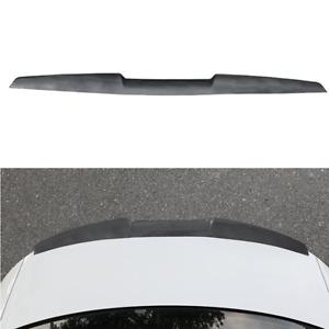 Car Trunk Rear Wing Lip Spoiler Tail Roof Bonnet Trim Flexible TPU Sticker 120cm