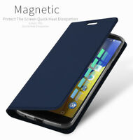 DD For Motorola Moto G6 Play PU Leather Flip Case Wallet Smart Magnetic Cover