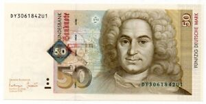 GERMANY 50 MARKS (1997) P. 45, UNC