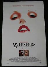 WHISPERS movie poster DEAN KOONTZ original 1989 video promo