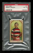 PSA 4 MARTY WALSH 1911 Imperial Tobacco C55 Hockey Card #11