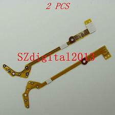 2PCS/ NEW Lens Shutter Flex Cable For Samsung S760 S860 ES55 ES10 ES15 ES17 ES60