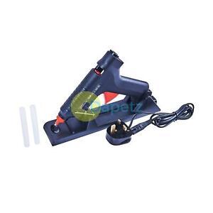 Amtech 35-80w Cordless Rechargeable Hot Melt Glue Gun Hobby Craft & 2 Sticks New