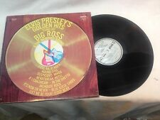 """1972 Pickwick Records SPC-3292 """"Elvis Presley's Golden Hits sung by Big Ross"""""""