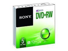 5DPW47SS Sony DVD RW 4.7gb 5 Pc(s) 27242868281