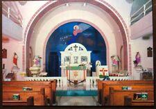 Vintage Sanctuary &Altar St. Elizabeth's Catholic Church Eureka Spring, Arkansas